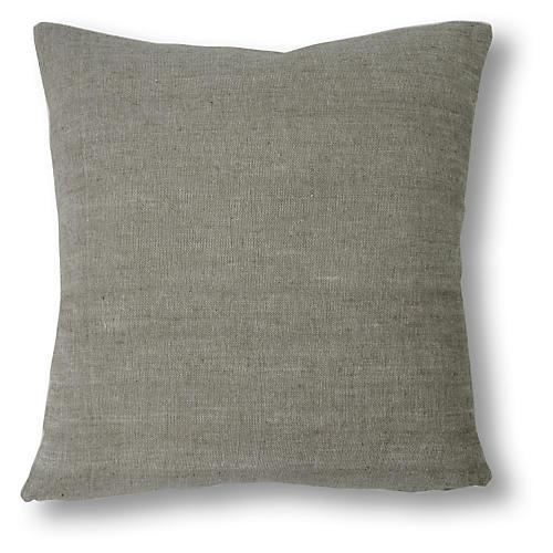 Allen 20x20 Pillow, Slate