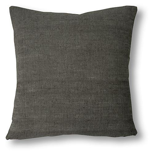 Abren 20x20 Pillow, Onyx