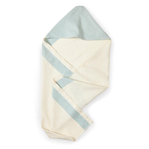 Aboosh Hooded Towel, Blue