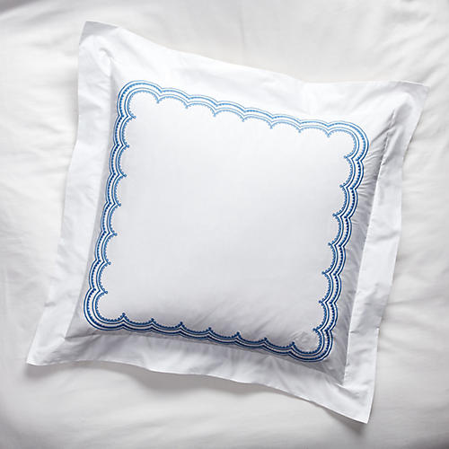 Evelyn Euro Sham, Azure