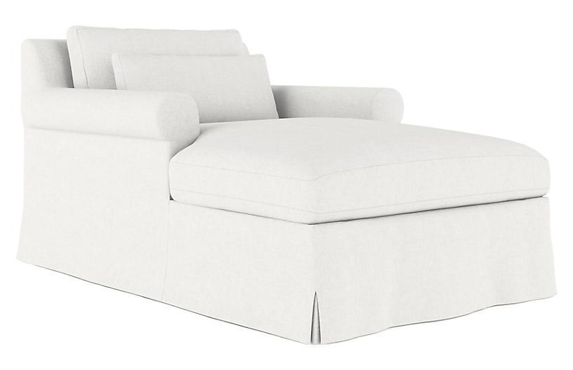 Ludlow Chaise, Blanc