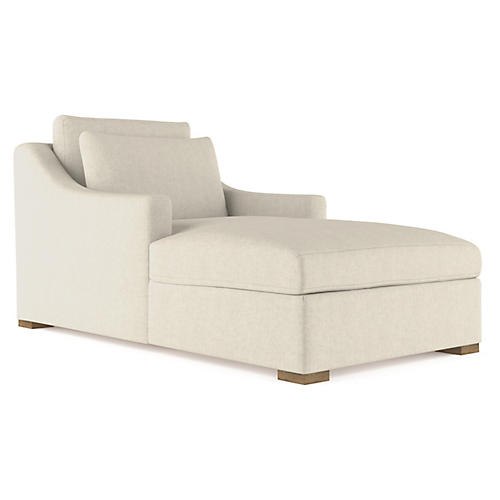 Crosby Chaise, Oyster