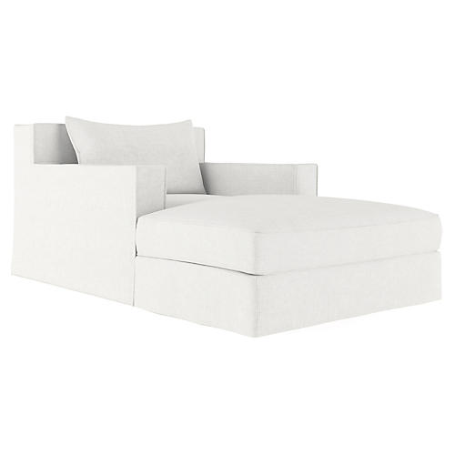 Mulberry Chaise, Blanc