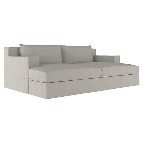 Mulberry Daybed, Silver Streak
