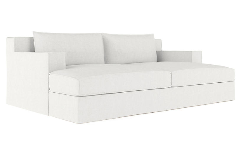 Mulberry Daybed, Blanc