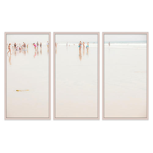 Judith Gigliotti, Pink Suit Triptych