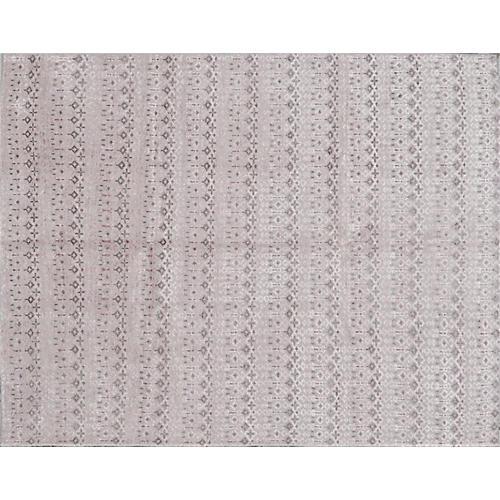 "7'10""x10' Yeerli Rug, Gray/Blush"