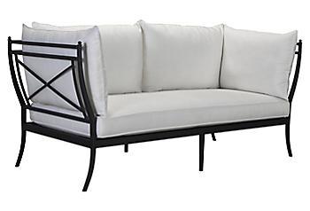 White Acrylic Bedroom Furniture - One Kings Lane