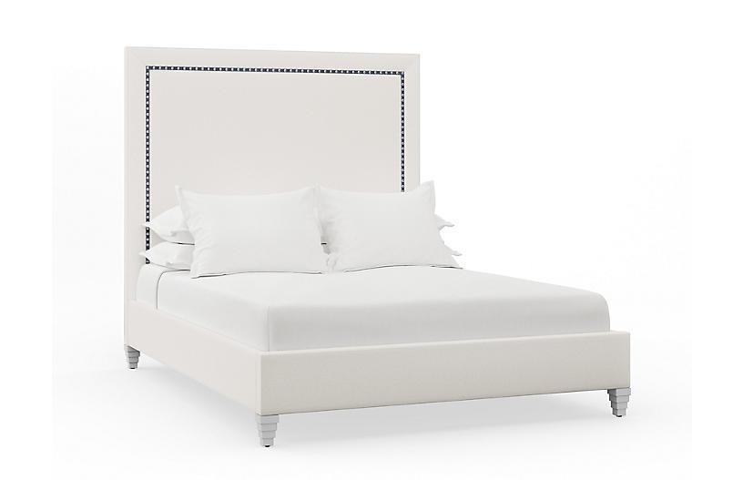 Sophie Bed, Natural Linen