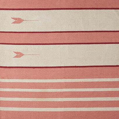 Montecito Rug, Pink/Natural