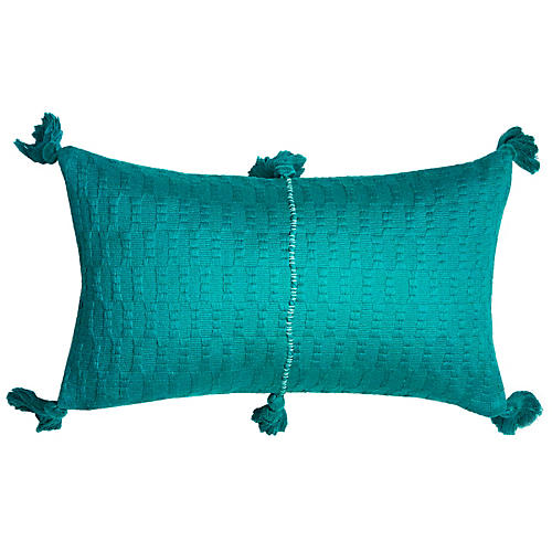 Antigua 12x20 Lumbar Pillow, Jade