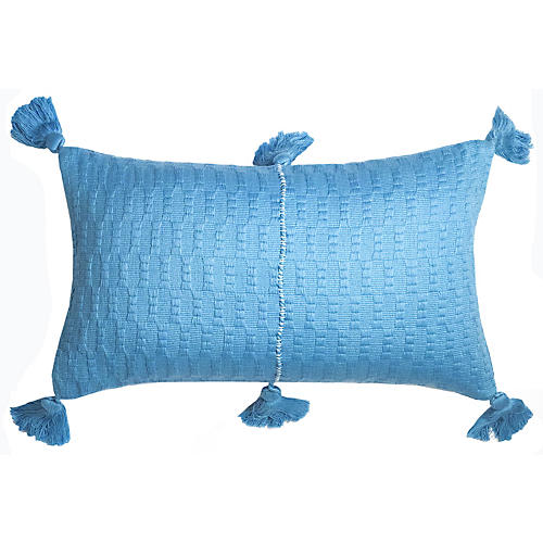 Antigua 12x20 Lumbar Pillow, Sky