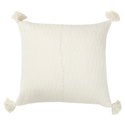 Antigua Pillow, Natural White