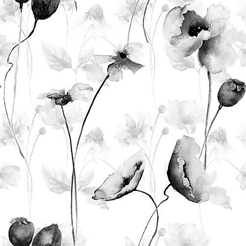 Neutral Hypnosis Wallpaper, White