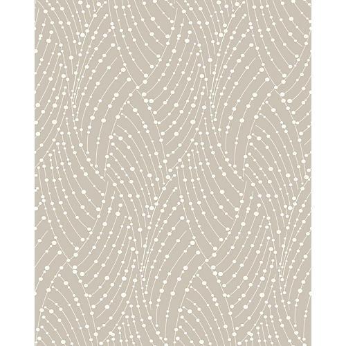 Ravel Wallpaper, Taupe