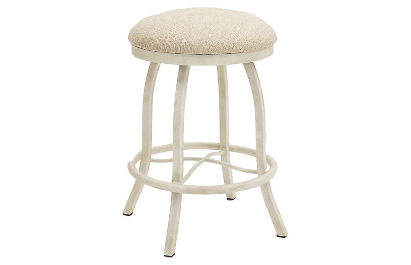 Fine Atlanta Counter Stool Beige Ncnpc Chair Design For Home Ncnpcorg