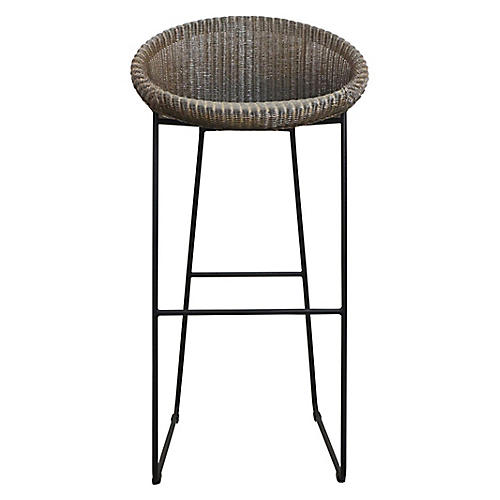 Joe Barstool, Greige/Black