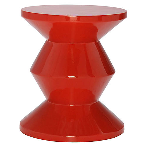 Totum Stool, Red