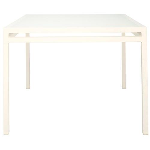 Laszlo Square Dining Table, Vanilla