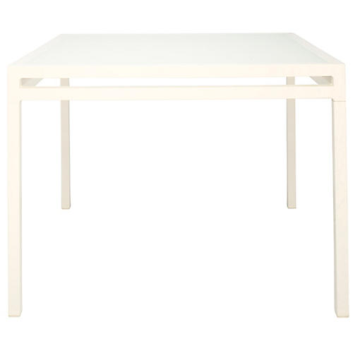 Laszlo Square Dining Table, Vanilla