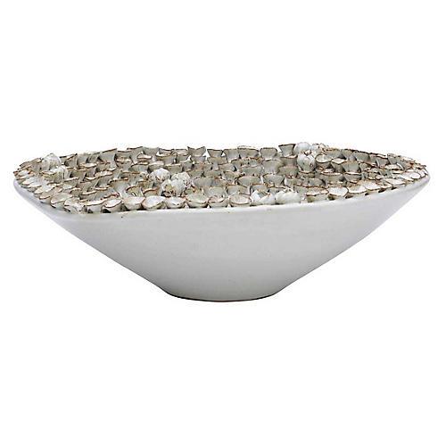 Petals Bowl, White