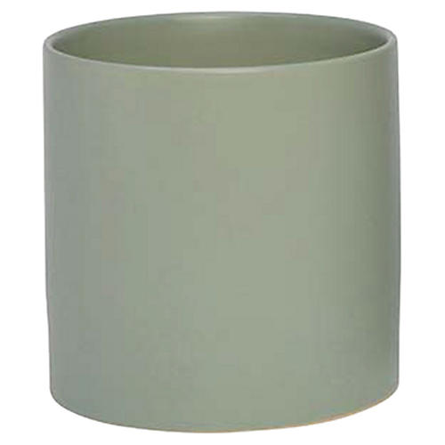 Cylinder Pot, Watergreen