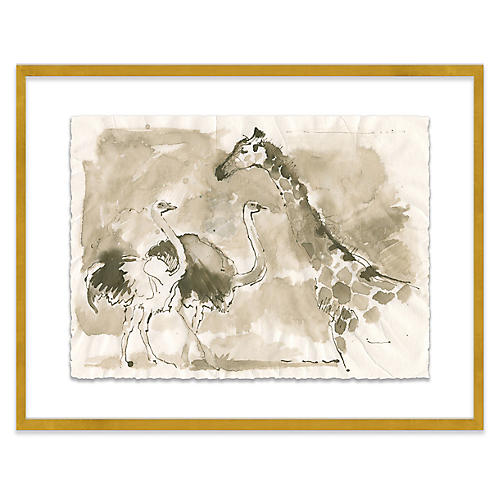 Mary H. Case, Giraffe & Ostrich