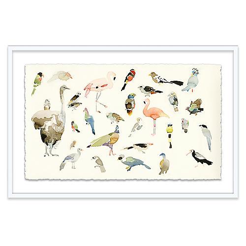 Bird Chart Painting