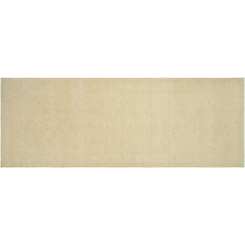 "6'8""x19'11"" Egyptian Sultanabad Rug, Beige"