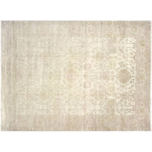 "8'9""x11'10"" Egyptian Sultanabad Rug, Beige/Gold"