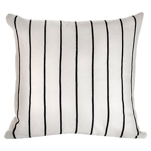 Santiago Atitlan 18x18 Pillow, White
