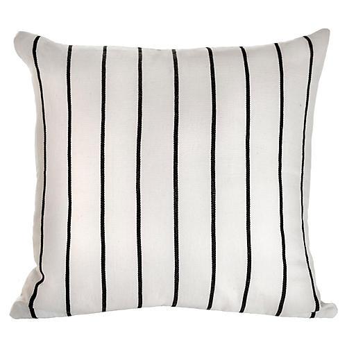 Santiago Atitlan 18x18 Pillow, White