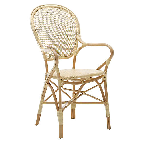 Rossini Bistro Armchair, Natural