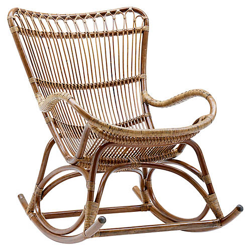 Monet Rocking Chair, Antique