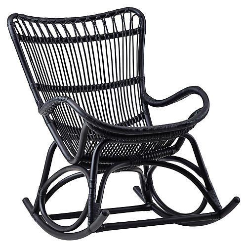 Monet Rocking Chair, Black