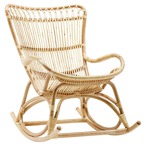 Monet Rocking Chair, Natural