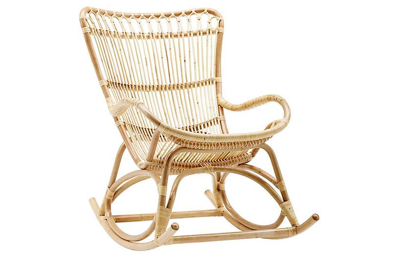 Monet Rocking Chair, Natural