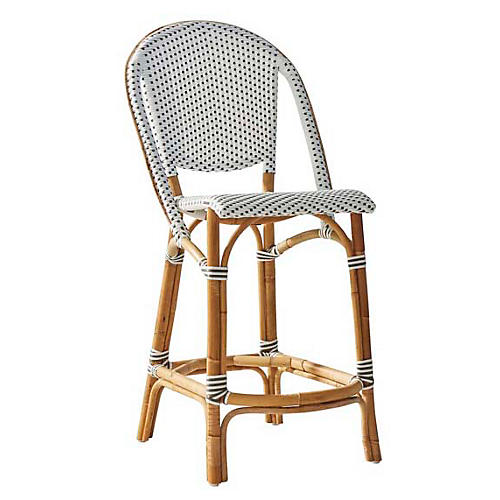 Sofie Bistro Counter Stool, Natural