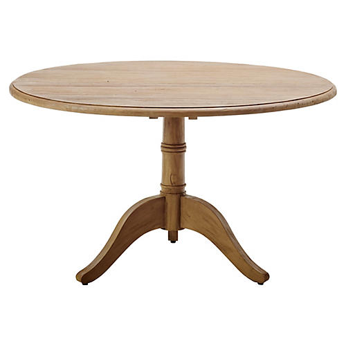 "Michel 47"" Café Dining Table, Natural"