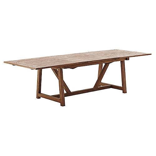 Lucas Ext. Dining Table, Natural