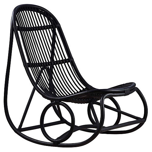 Nanny Rocking Chair, Black