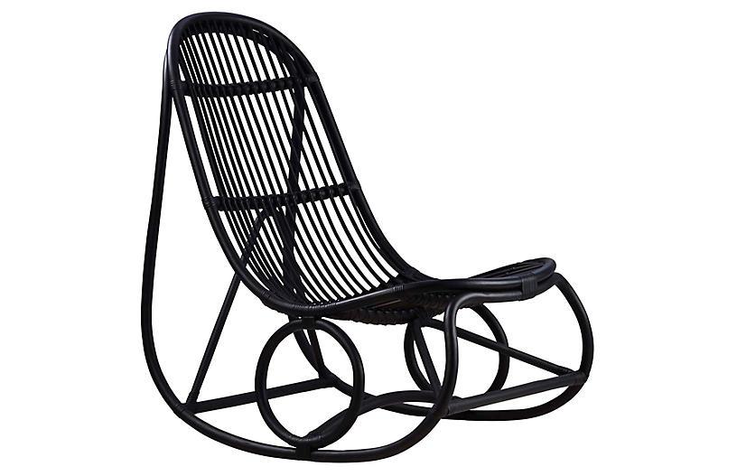 Nanny Rocking Chair, Black