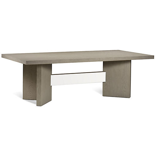 Calvin Dining Table, Taupe