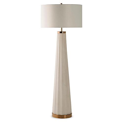 Anya Floor Lamp, Off-White