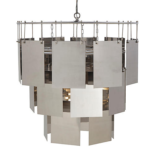Marilyn Large Chandelier, Silver