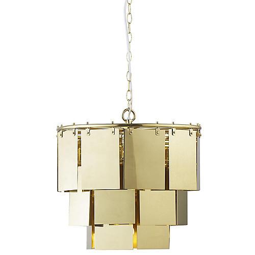 Marilyn Small Chandelier, Brass