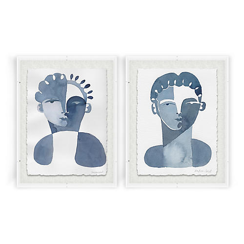 Hayley Mitchell, Claudine & Perette Acrylic Box