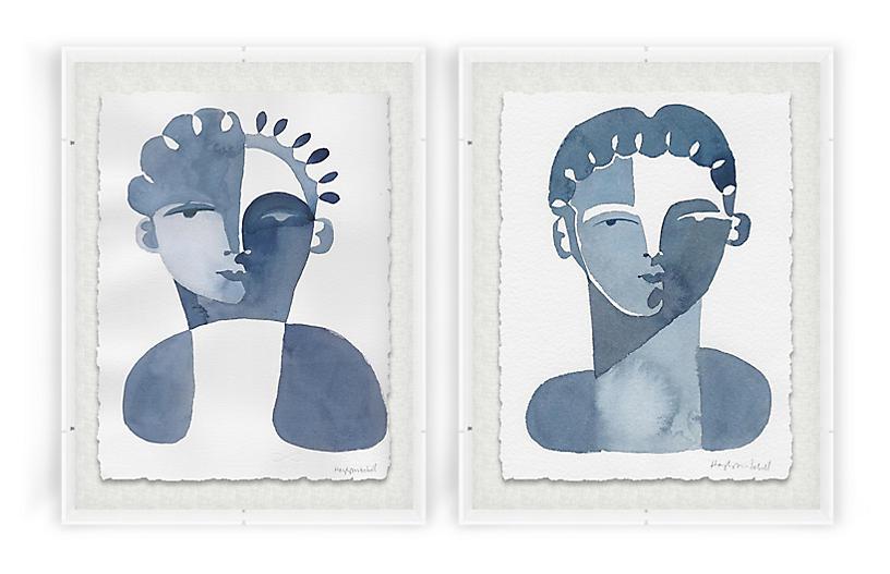 Hayley Mitchell, Claudine & Perette Acrylic Box