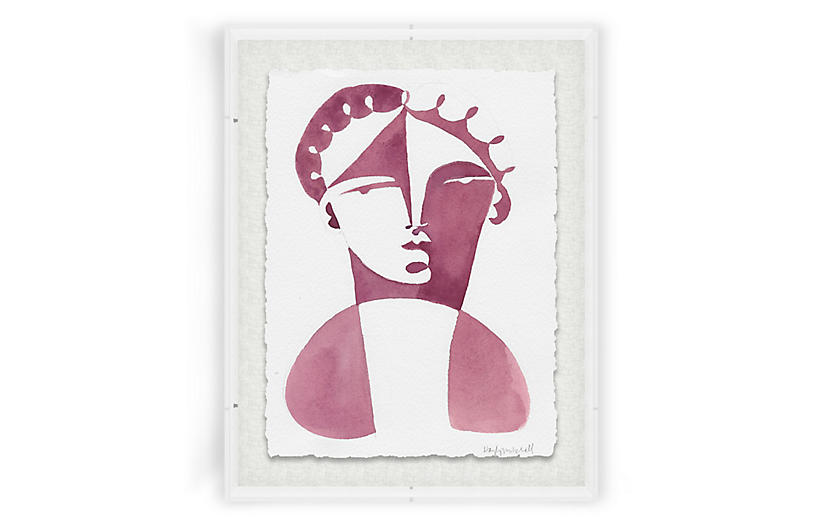 Hayley Mitchell, Odetta Acrylic Box