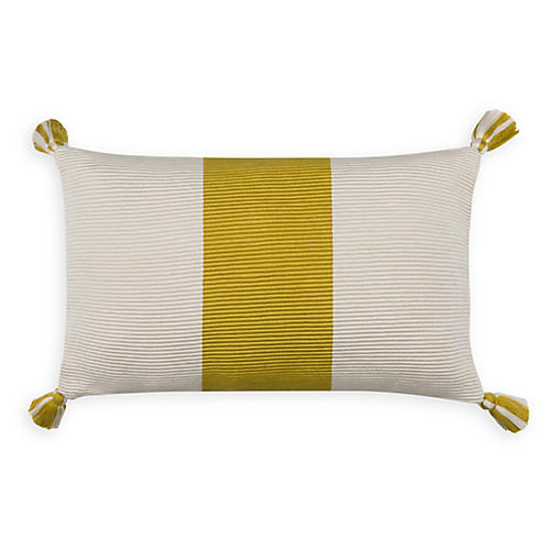 Laguna Stripe 14x20 Pillow, Citrus